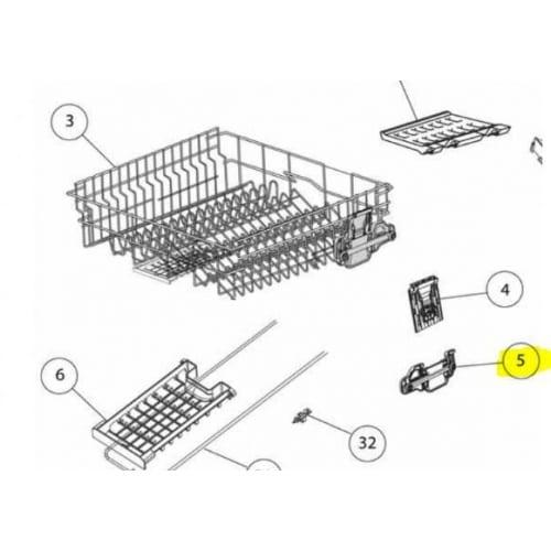Dishwasher Racks & Rack Wheels