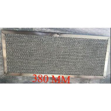 Parmco Classique Down Draft Downdraft PZ Aluminium Filter 380mm X 160mm
