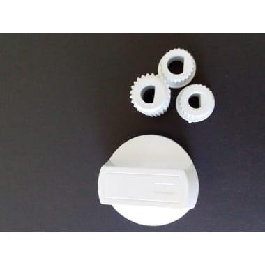universal white oven knob