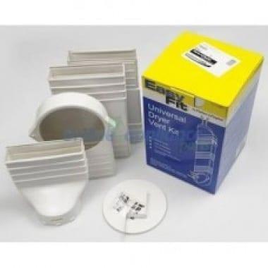 Dryer vent kit