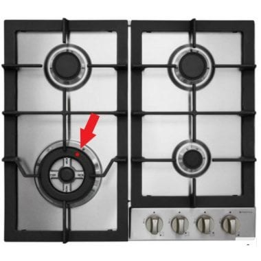 SHARE Parmco HO-6-6S-3GW 600mm Gas Hob