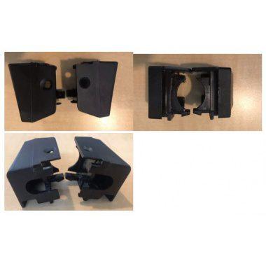 EISNO BM64M2-B1-04/ BM67T2-B1-07 OVEN DOOR PANEL CLIPS / LATCH - PAIR